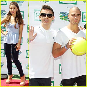 Ariana Grande & The Wanted: Arthur Ashe Kids Day!