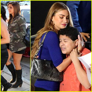 Rico Rodriguez: 'Modern Family' Filming with Sofia Vergara!