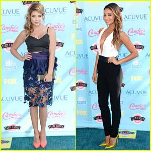 Ashley Benson & Shay Mitchell - Teen Choice Awards 2013