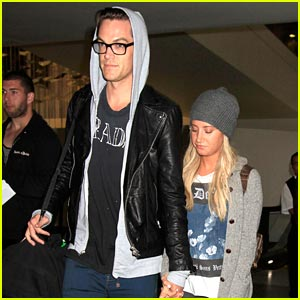 Ashley Tisdale & Christopher French: LAX Landing After Engagement News!