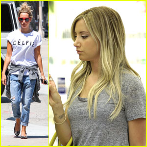 Ashley Tisdale: Quick Studio Stop