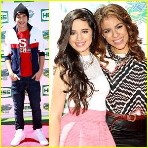 Austin Mahone & Fifth Harmony: Arthur Ashe Kids Day Pics!