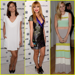 Bella Thorne & Aly & AJ Michalka: InStyle Summer Soiree 2013
