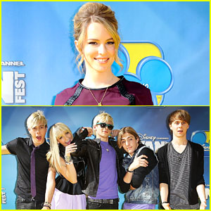 Bridgit Mendler: 'Teen Beach Movie' Premiere with R5