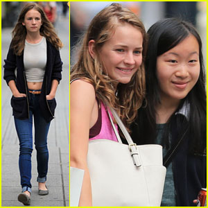 Britt Robertson: Day Off From 'Tomorrowland' Filming