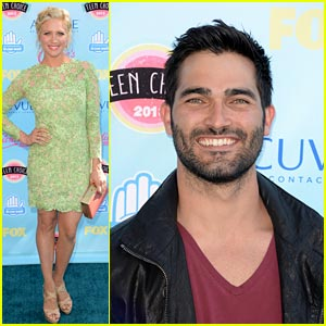 Brittany Snow & Tyler Hoechlin - Teen Choice Awards 2013!