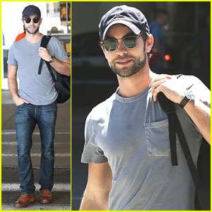 Chace Crawford: LAX Airport Arrival