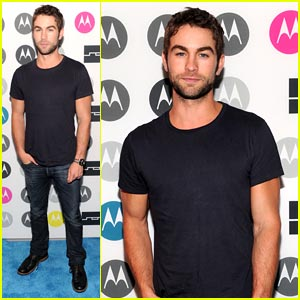 Chace Crawford: Moto X Party Pics!