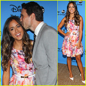 Chloe Bennet: TCA's Disney/ABC Party!