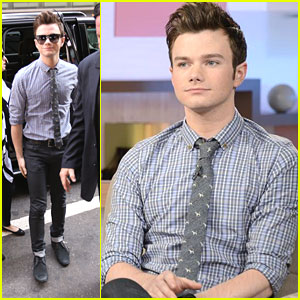 Chris Colfer: GMA Stop for 'Land of Stories'