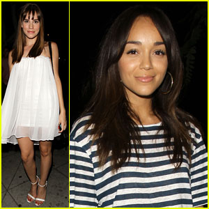Christa B. Allen & Ashley Madekwe: Hooray Henry Buddies!