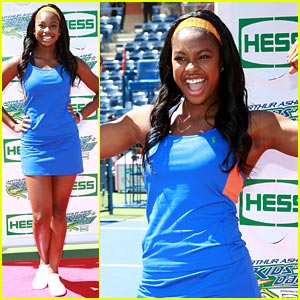 Coco Jones: Arthur Ashe Kids Day Attendee!