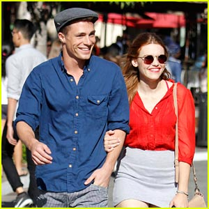 Colton Haynes: Birthday Celebration with Holland Roden!