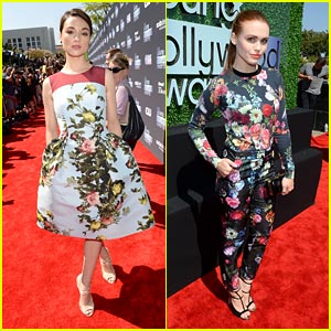 Crystal Reed & Holland Roden - Young Hollywood Awards 2013