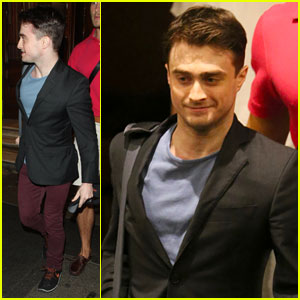 Daniel Radcliffe: Fan Friendly After 'Inishmaan'