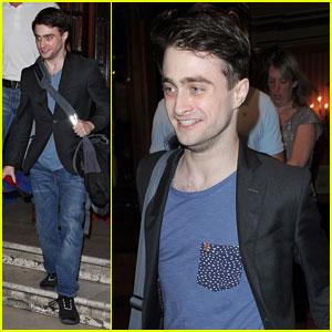 Daniel Radcliffe: Happy 'Inishmaan' Exit!