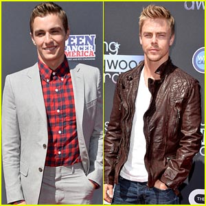 Dave Franco & Derek Hough - Young Hollywood Awards 2013