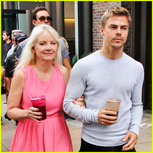 Derek Hough: Day Out with Mom Marianne