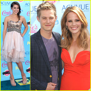 Lucas Grabeel & Eden Sher - Teen Choice Awards 2013