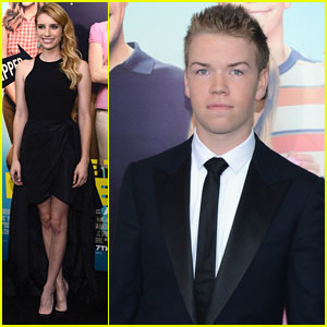 Emma Roberts & Will Poulter: 'We're the Millers' NYC Premiere