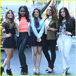 Fifth Harmony: Fox & Friends Performance Pics!