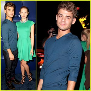 Garrett Clayton & Claudia Lee: Delta Party Pair!