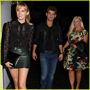 Garrett Clayton: Dinner with Mom and Claudia Lee!