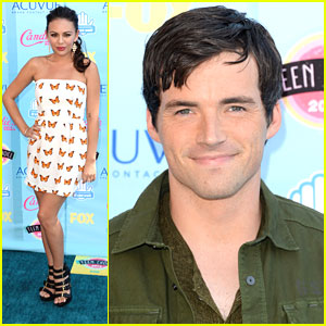 Janel Parrish & Ian Harding - Teen Choice Awards 2013 Winners!