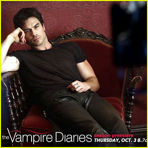 Ian Somerhalder: 'Vampire Diaries' Season 5 Pic!