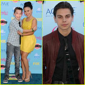 Jake T. Austin & Cierra Ramirez - Teen Choice Awards 2013