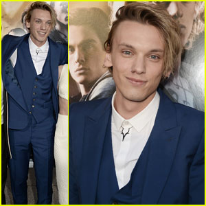 Jamie Campbell Bower: 'Mortal Instruments: City of Bones' Premiere