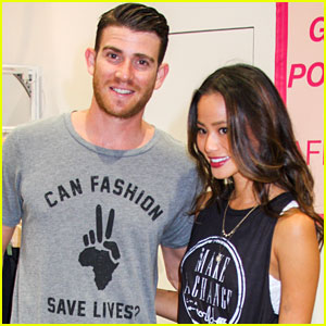 Jamie Chung & Bryan Greenberg: 'Fashion Saves Lives' Trade Show
