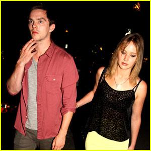 Jennifer Lawrence & Nicholas Hoult: 'X-Men' Wrap Party Pair!