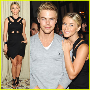 Julianne Hough: Cosmo's Summer Bash with Brother Derek