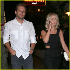 Julianne Hough & Ari Sandel: Birthday Party Pair!