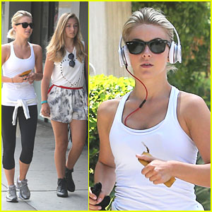 Julianne Hough Jogs Before Breakfast
