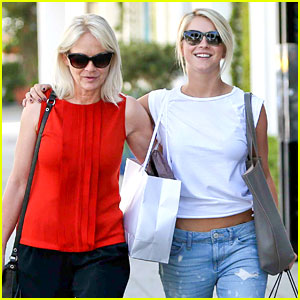 Julianne Hough: Shopping with Mom Marianne