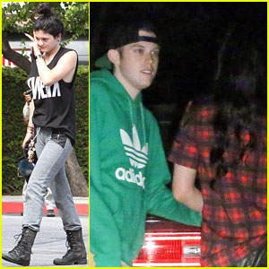 Kylie Jenner Hangs with Singer Harry Hudson!