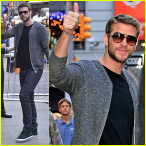 Liam Hemsworth: 'Good Morning America' Appearance - Watch Now!