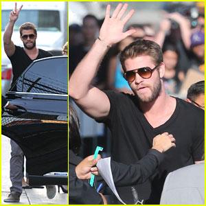 Liam Hemsworth: 'Jimmy Kimmel Live!' Appearance - Watch Now!