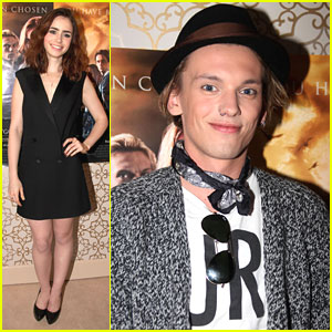 Lily Collins: 'Mortal Instruments' in Norway with Jamie Campbell Bower