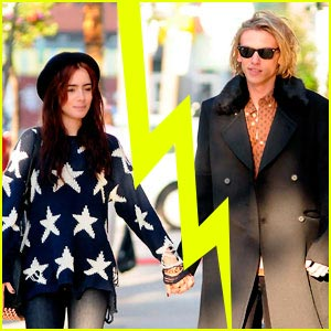 Lily Collins & Jamie Campbell Bower Split?