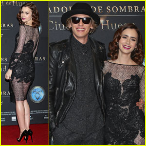 The Mortal Instruments City Of Bones Premiere In Berlin Aug 20 2013