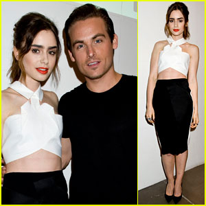 Lily Collins & Kevin Zegers: 'Flaunt' Magazine Cover Celebration