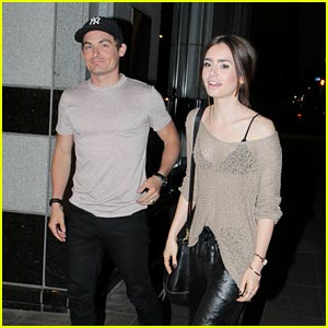 Lily Collins & Kevin Zegers: Toronto Dinner Duo!