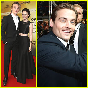 Lily Collins: 'City of Bones' Berlin Premiere