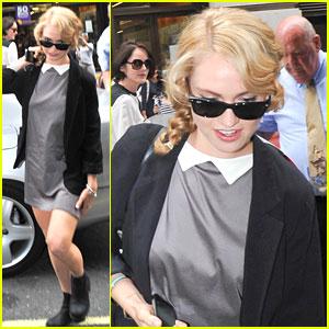 Lily James: 'Downton Abbey' Press Day