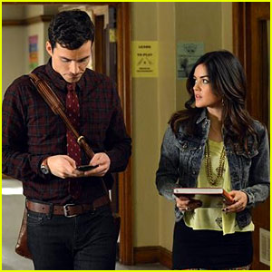 Lucy Hale: Aria is Still in Love with Ezra!