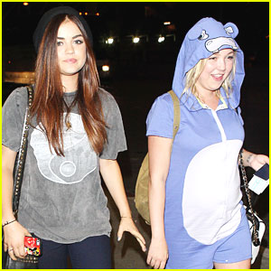Lucy Hale: LAX Airport After Teen Choice Awards 2013