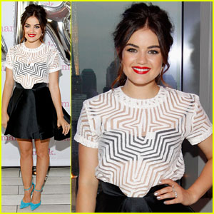 Lucy Hale: Mark.'s 10th Birthday Celebration!